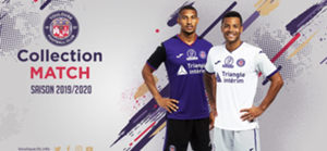Maillots toulouse 2019 20
