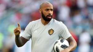 Thierry Henry Belgium 2018