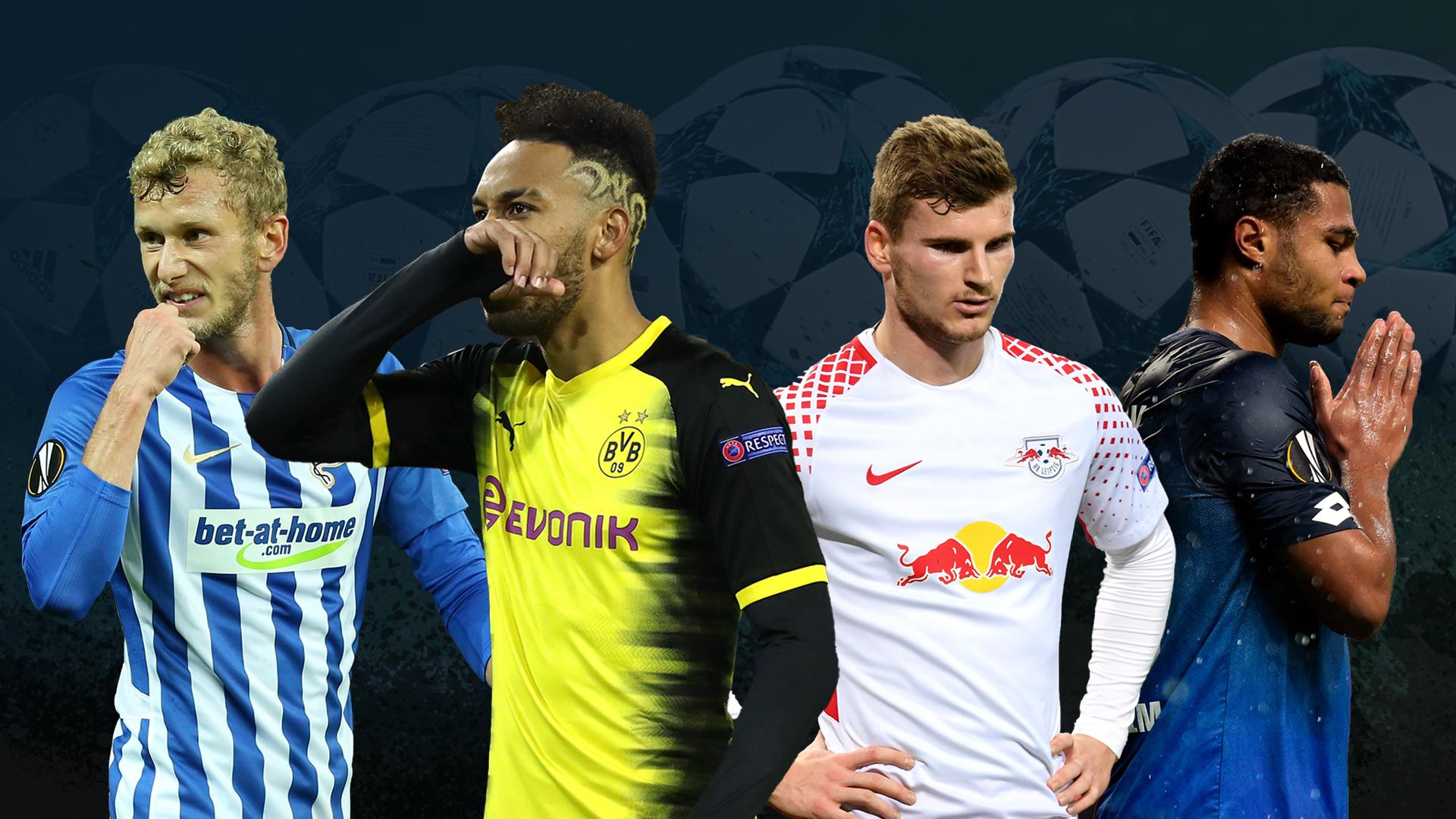 Erstes Mal in der K.-o.-Phase: Fünf englische Klubs