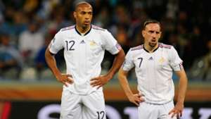 Thierry Henry Franck Ribery