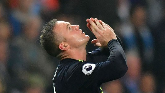 Wayne Rooney Man City Everton