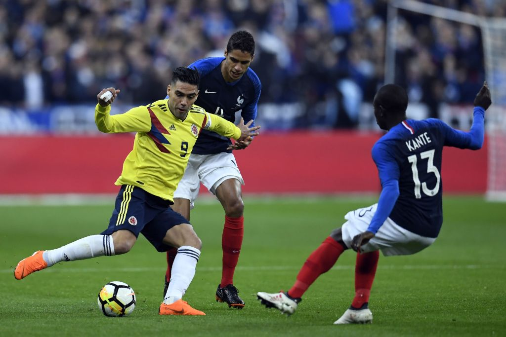 Falcao Colombia vs Francia