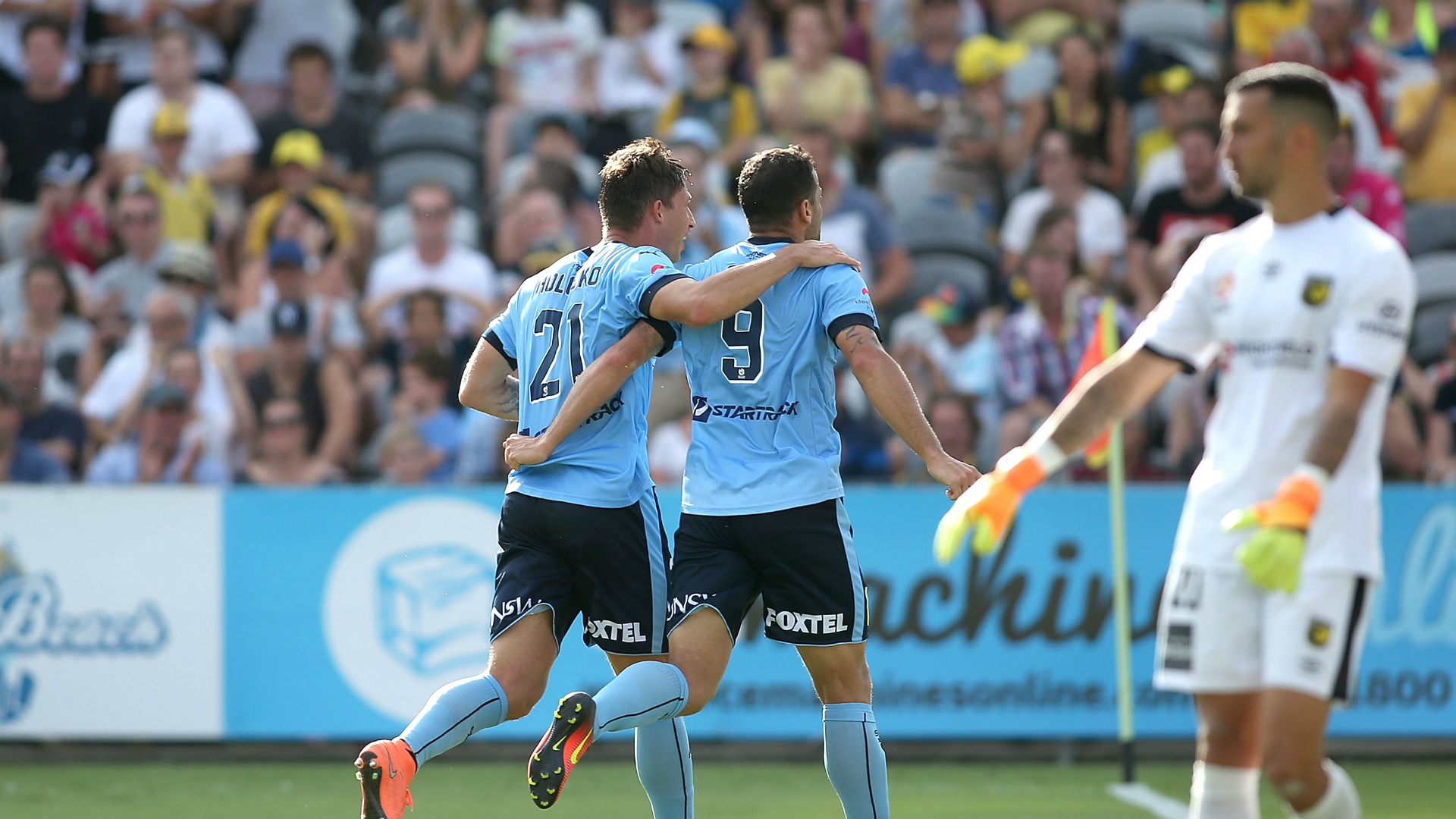 Filip Holosko Bobo Central Coast Mariners v Sydney FC A-League 08012017