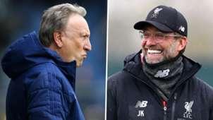 Neil Warnock Jurgen Klopp Liverpool Cardiff
