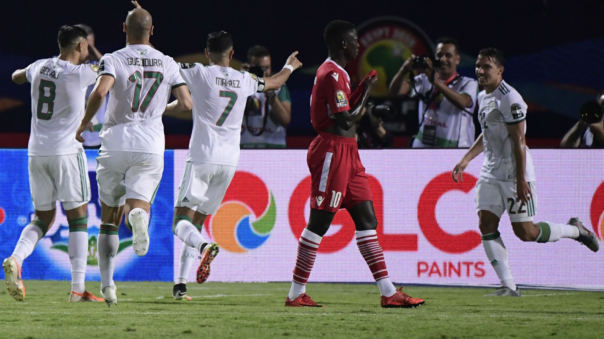 Algeria Kenya AFCON 2019 23062019