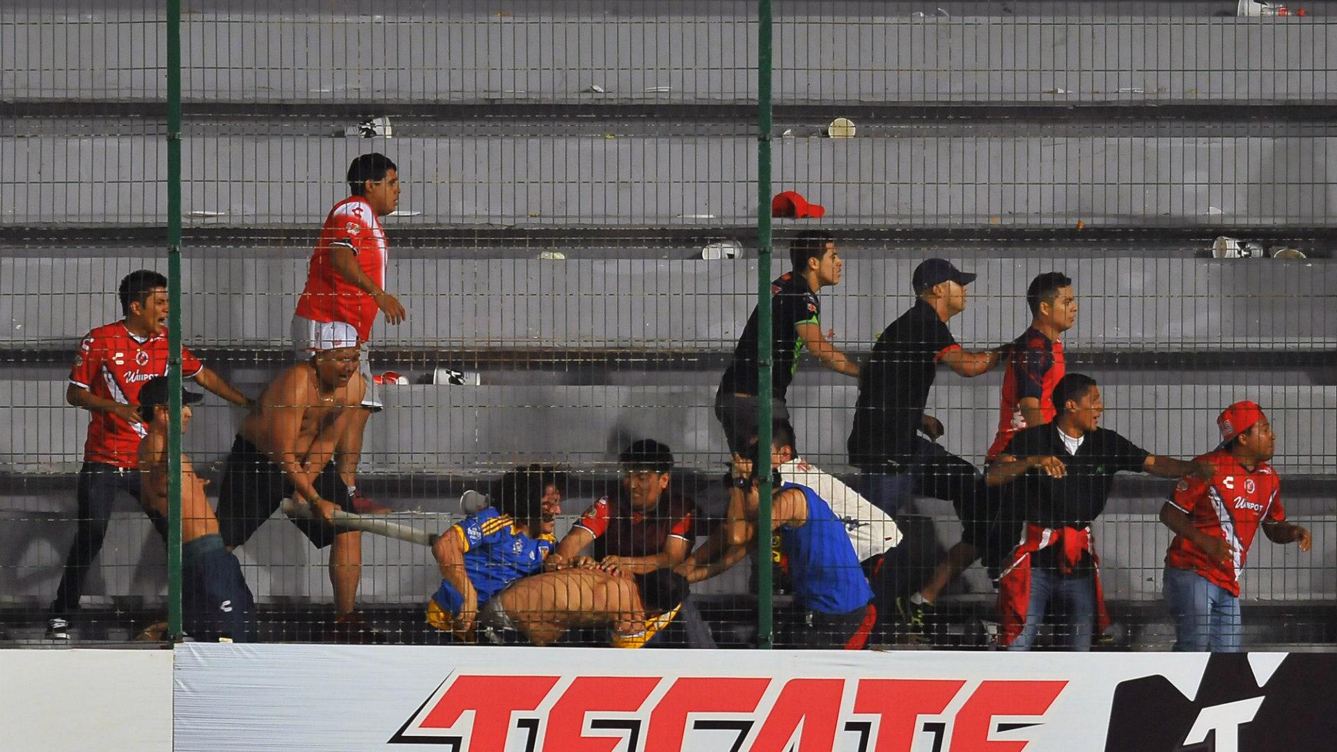 Veracruz stadium violence