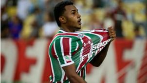 Wendel Fluminense Atletico GO Brasileirão 05 08 2017