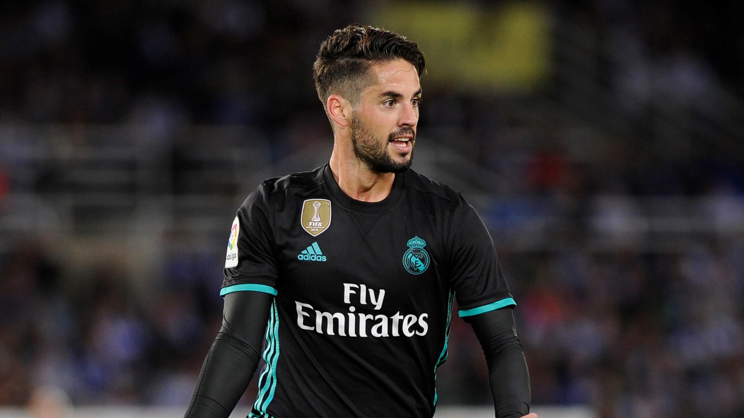 Isco Alarcon Real Sociedad Real Madrid LaLiga 17092017