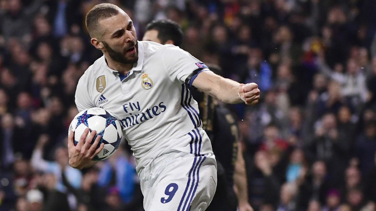 Karim Benzema Real Madrid Champions League