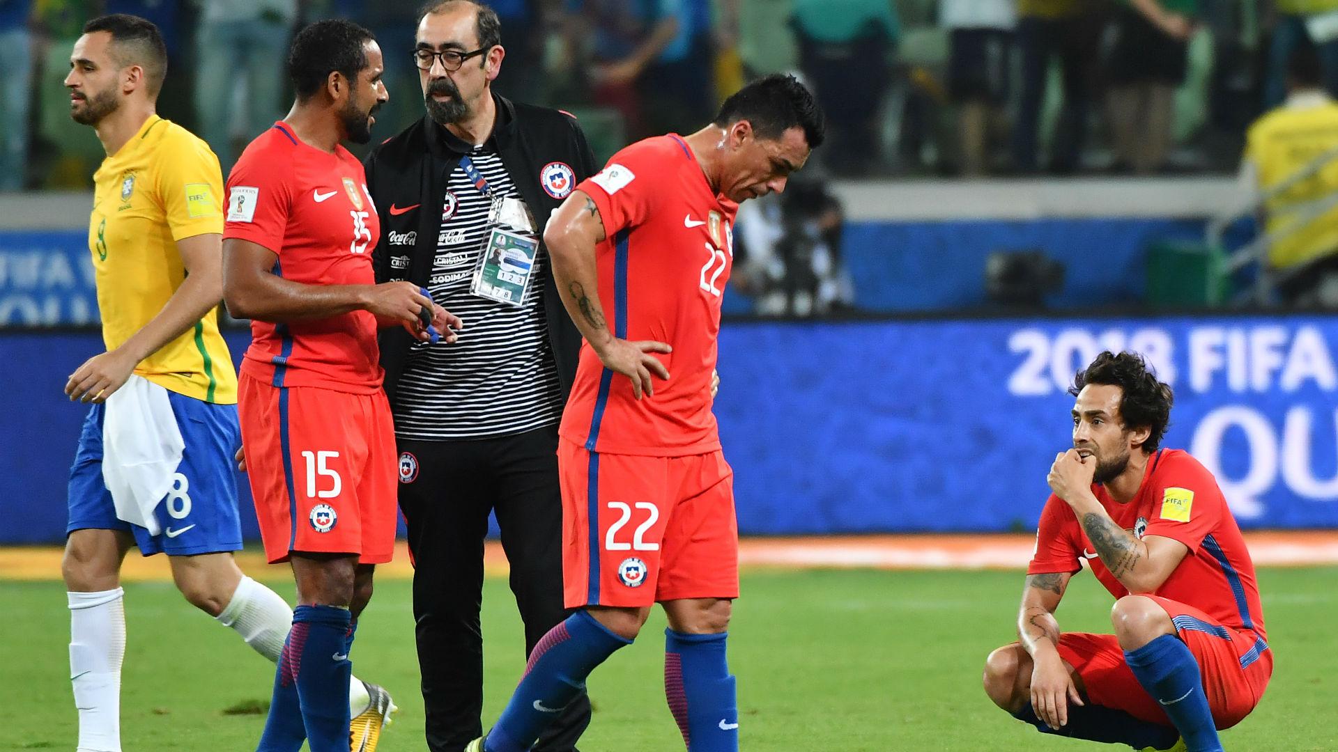 Paredes defiende a Vidal y reconoce quiebre en la Selección