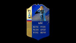 FIFA 18 Calcio A Team of the Season Ilicic