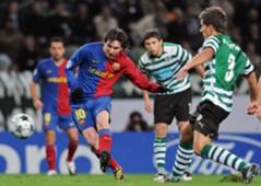 Barcelona vs sporting lisbon