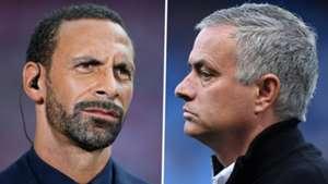 Rio Ferdinand Jose Mourinho Man Utd
