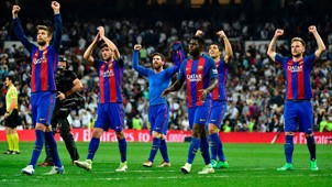 FBL-ESP-LIGA-REALMADRID-BARCELONA La Liga 24042017