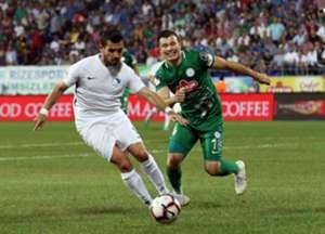 Braian Samudio Caykur Rizespor BB Erzurumspor Super Lig 08/24/18