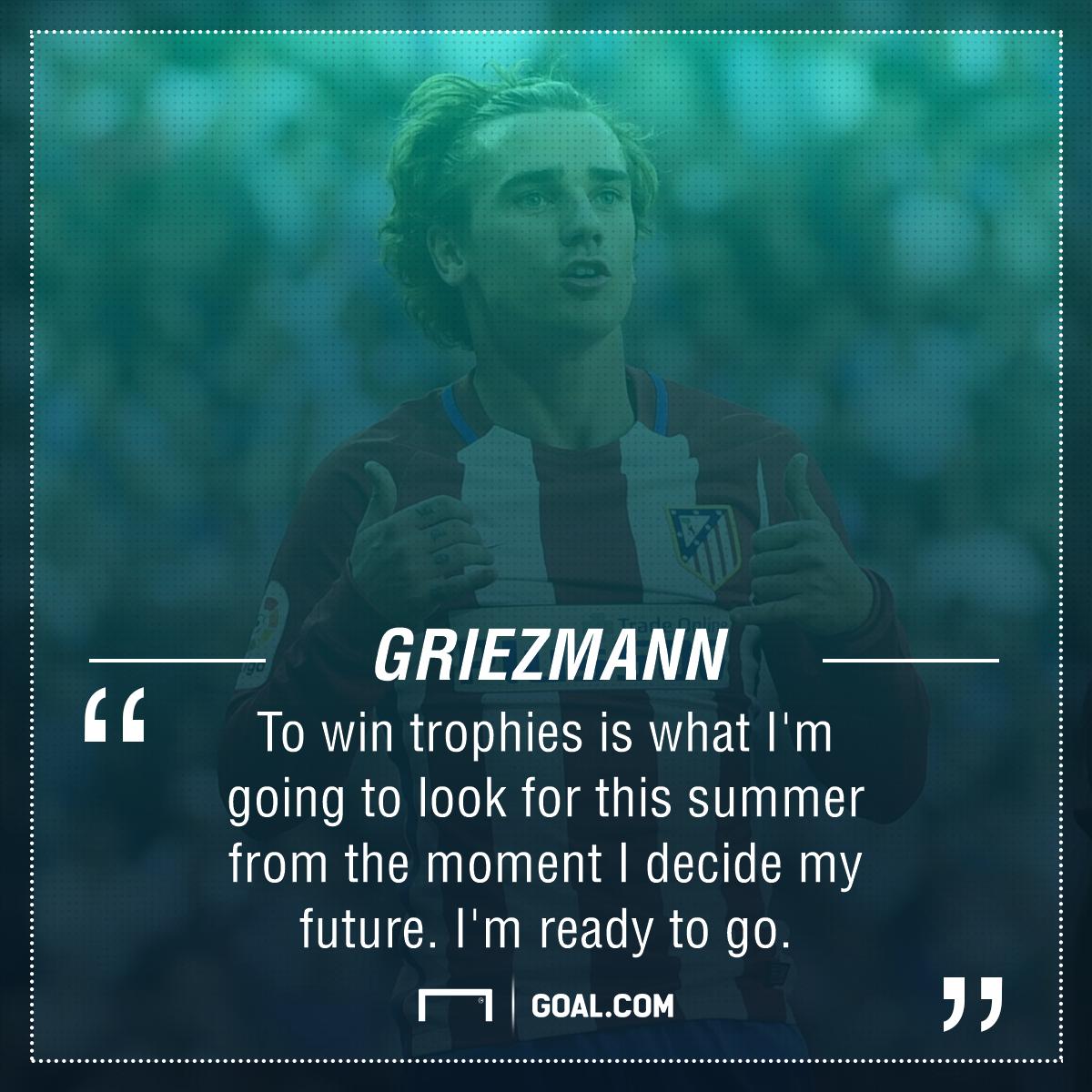 Antoine Griezmann future