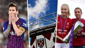 Barcelona sign Sony Music deal, London Stadium landlords losing £20m a year & Women's Super League Games to be streamed for free