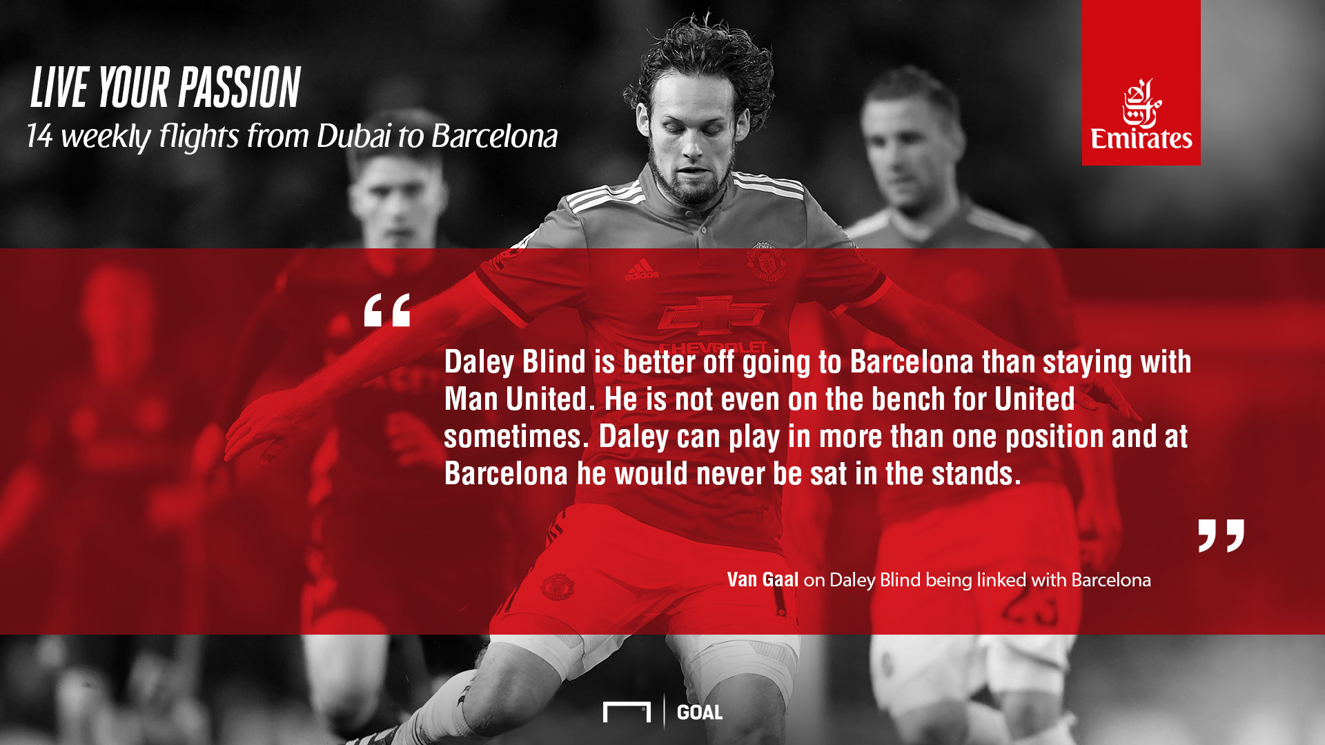 Van gaal on blind E