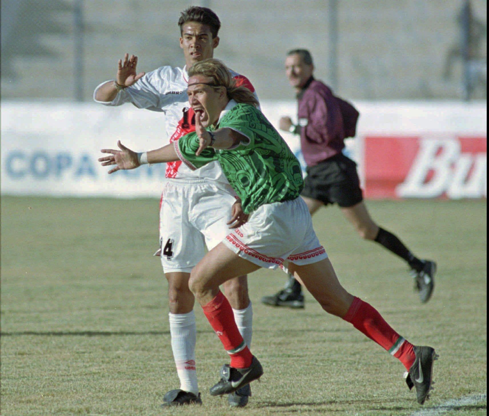 México Copa América 1997