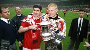 Peter Schmeichel Eric Cantona Manchester United