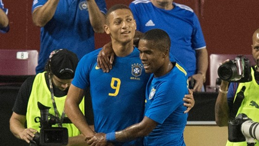 Richarlison Douglas Costa Brazil 11092018