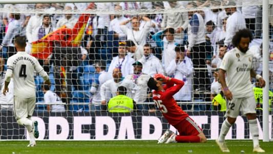 real madrid levante - courtois ramos marcelo - la liga - 20102018