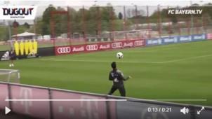Bayern zaubern im Training