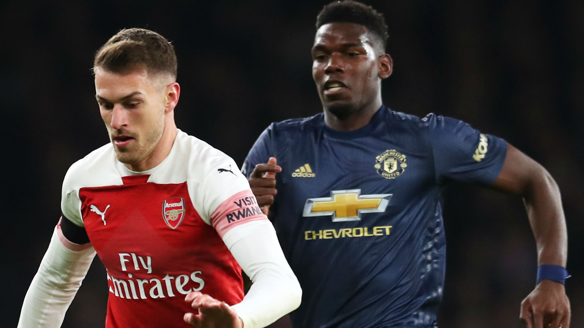 Aaron Ramsey Arsenal Paul Pogba Manchester United FA Cup