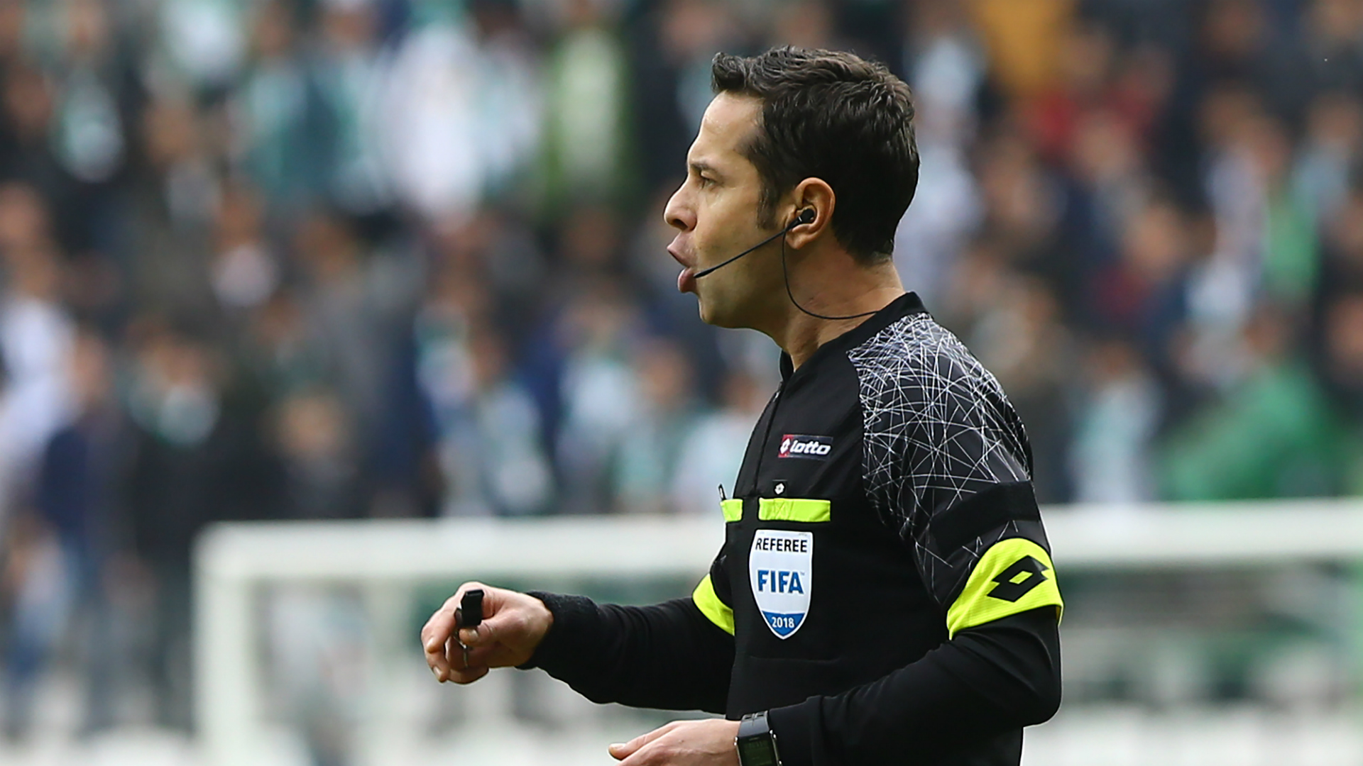 Turkish referee Halis Ozkahya