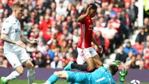 Marcus Rashford Manchester United Swansea