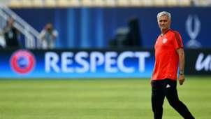 Jose Mourinho - Skopje - UEFA Supercup - Manchester United - Real Madrid