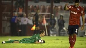 Leao Butron Emmanuel Gigliotti Independiente Alianza Lima Copa Sudamericana 04042017
