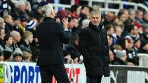 Jose Mourinho Alan Pardew Chelsea Newcastle December 2014