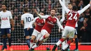 Shkodran Mustafi Arsenal Tottenham