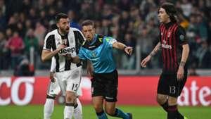 Andrea Barzagli Alessio Romagnoli Juventus Milan Serie A
