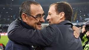 Allegri Sarri Juventus