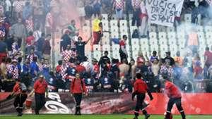 Croatia Crowd Trouble Group D Czech Republic Euro 2016
