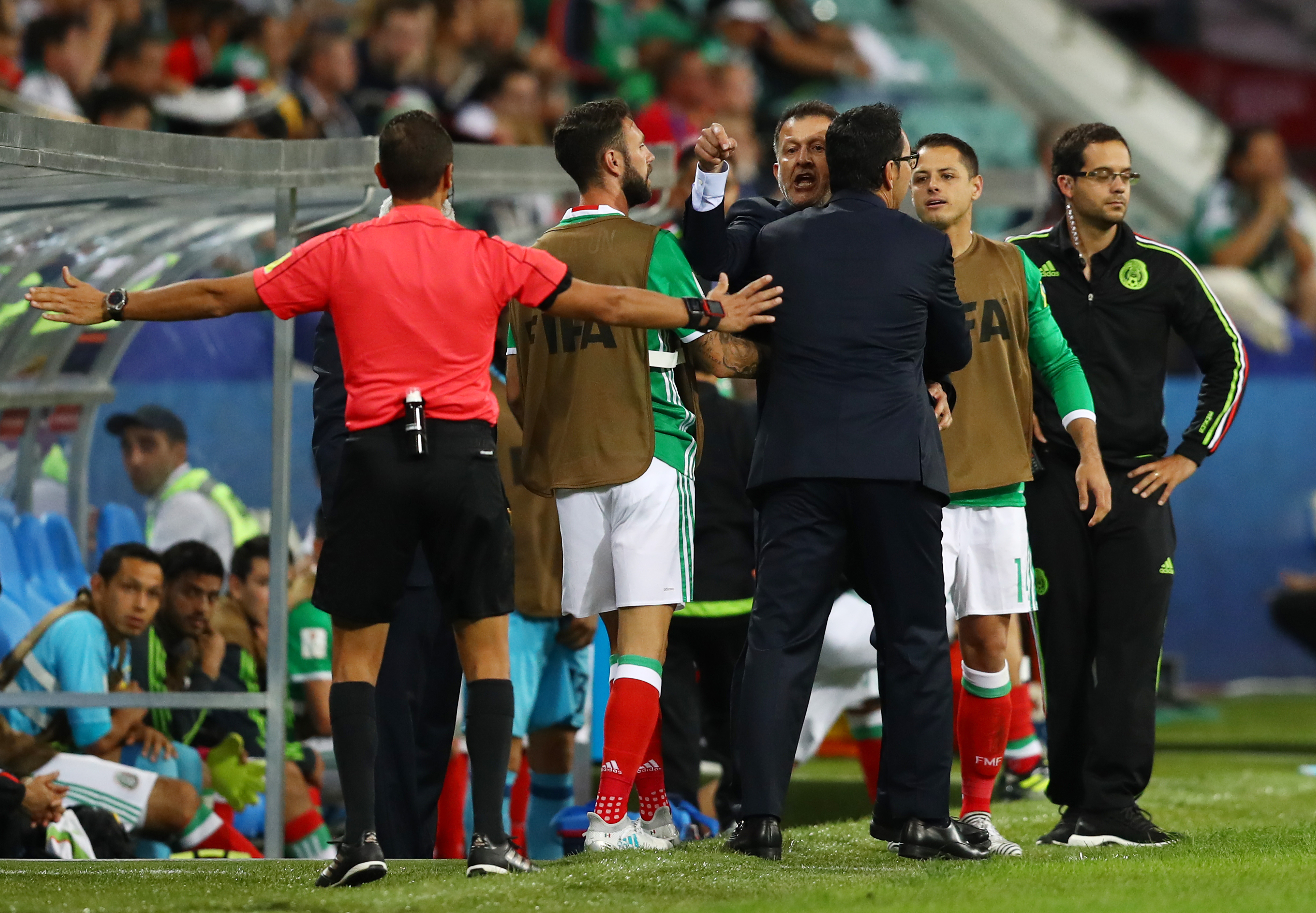 Osorio no da razones de negativa
