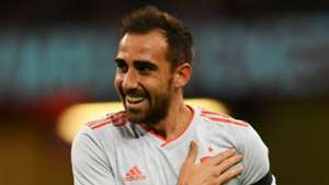 Paco Alcacer Spain 2018