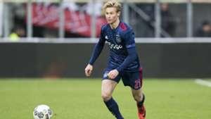 Frenkie de Jong, Ajax, Eredivisie 12172017
