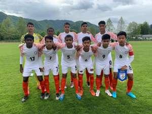 India U15 vs Slovenia