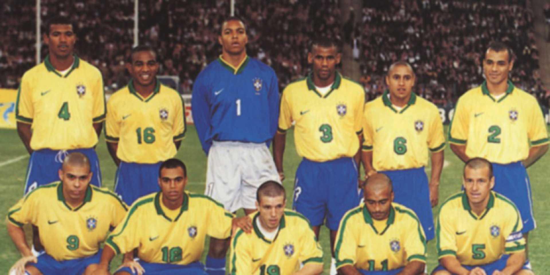 Brasil x Arábia Saudita 1997