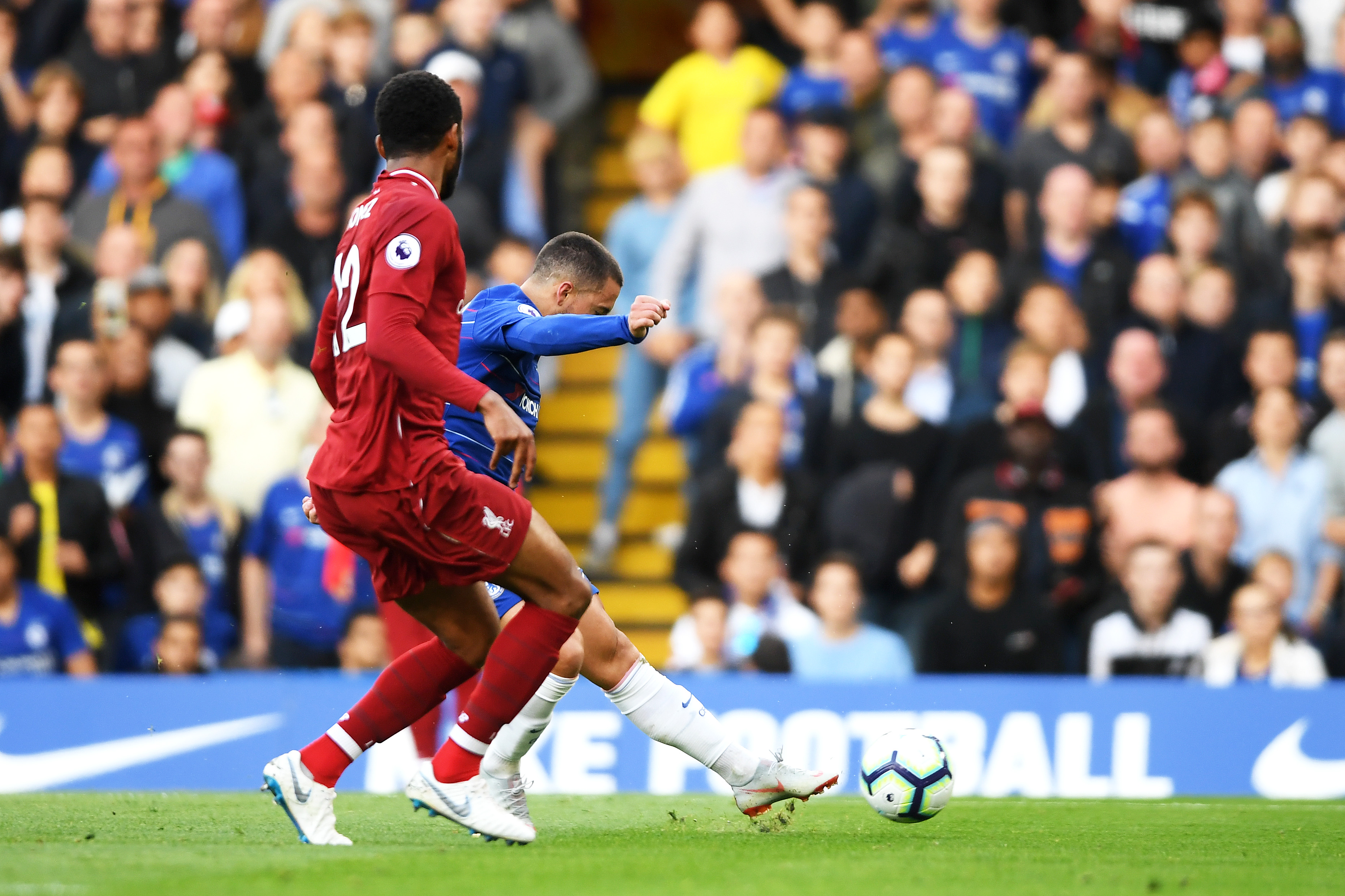 Eden Hazard Chelsea Liverpool Premier League