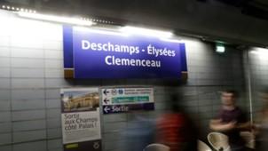 Metro Paris Deschamps