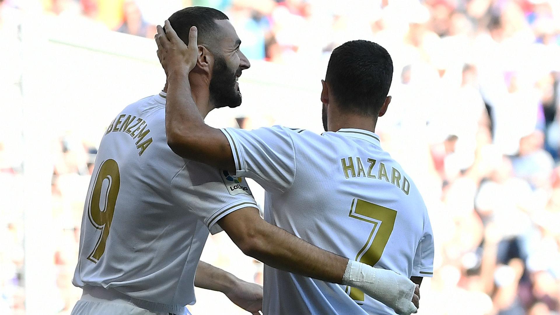 Benzema Hazard Real Madrid Granada 05102019