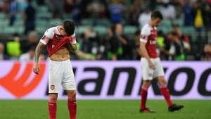 Lucas Torreira Chelsea vs Arsenal UEFA Europa League final 2019