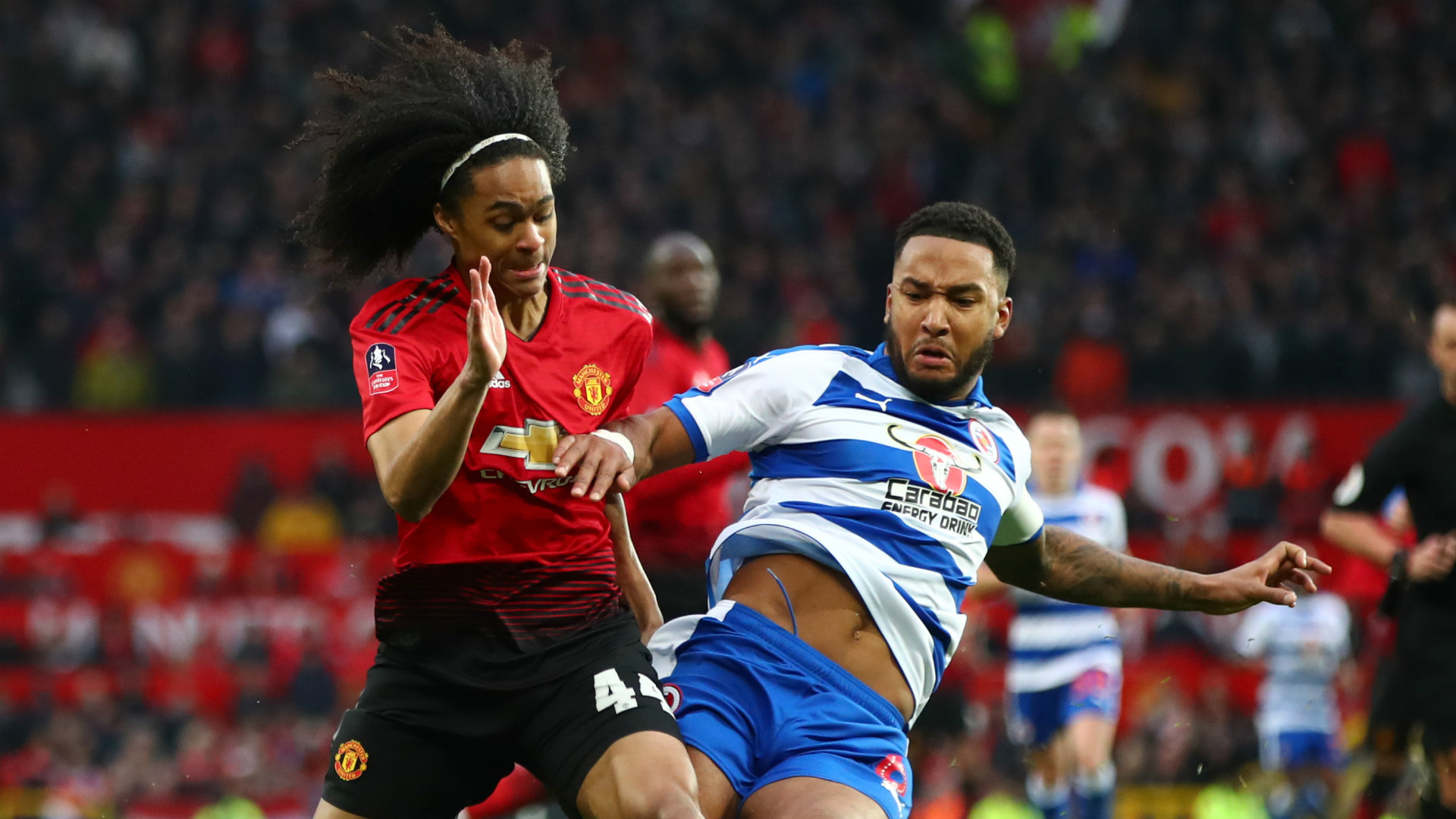 Man Utd 2 Reading 0: Tahith Chong salutes Ole Gunnar Solskjaer impact as he follows in Angel Gomes' footsteps