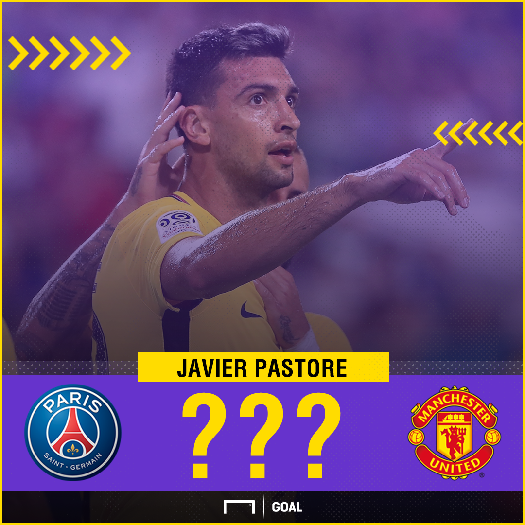 Javier Pastore PSG to Manchester United