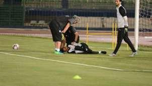 Mahmoud Genesh injury Afcon 2019