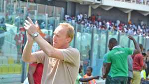 Hearts of Oak coach Frank Nuttall